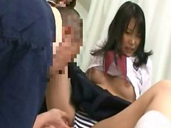 Subtítulos japoneses colegiala al pudor foreplay hospital de