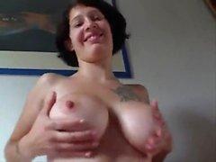 Hottest Amateur Mature Biker Couple fuck on webcam