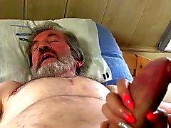 La sanación jóvenes sexuales para anciano en dolor de