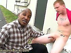 Interraciales chupar y carajo