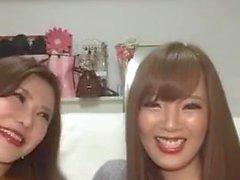 Hitomi Tanaka & Okita Anri in Live auf Instagram