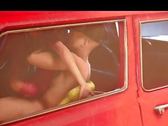 anal SFM adolescente no carro