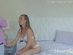 NannySpy Naughty maid Aidra Fox hired and fucked on halloween