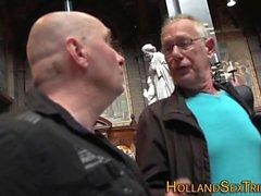 whore holandês real jizzed