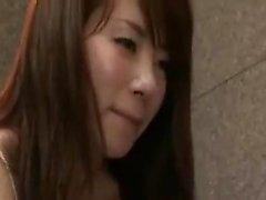 Ravishing japanilainen masseuse aistikaan tuo kova akseli t