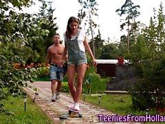 Голландский подросток сперма на лице