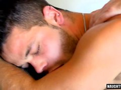 Tattoo Bär Oralsex und Sperma essen