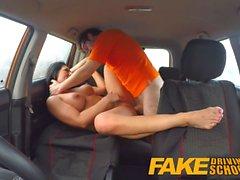 Fake autokoulu pov laukausta opiskelijat pillua nielee