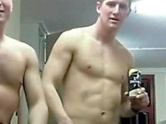 SILENT Soldiers Goofing Off Durring A Group Shower NOT SEXUAL