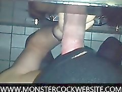 XXL Thick Dick In Gloryhole