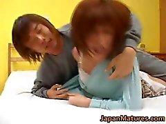 Kaori Nanba japonesa madura babe recebe part2
