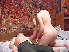 Russa mãe amadurecido e seu filho ! Amateur !