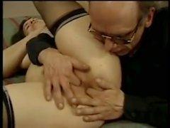 Ältere mit Floppy Titten Rimming Ass