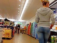 jeans round ass