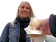 Gorgeous Eurobabe Beata fucked voor geld