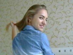 Fantastic Blonde Hairstyle and Hairplay, Long Hair, Hair