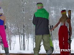 Haley Hill ve Katrin Tequila bir Alpine var ...