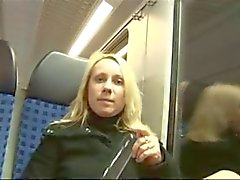 hot mature latina fucked in a train