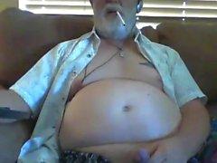 movimiento del abuelo en la webcam