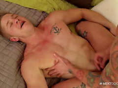 College Guy Has Summer Gardening Job & A Cute Horny Owner