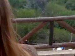 Sonia tocandose de vacaciones argentina