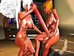 Die wahnsinnigen 3D Anime Sexfilme