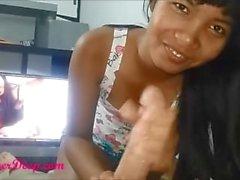 asiansexporno - Индонезия Девица петух сосание