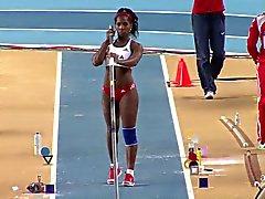 De Yarisley Silva: Olimpiadas Cuba culo sexy poste con pértiga - Ameman