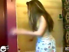 Eğlenceli Schoolgirl Web Kamera