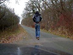 sandralein что создает унд ходьба с Ебать Jeans
