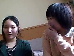 Japanische Prostituierte wird gespielt