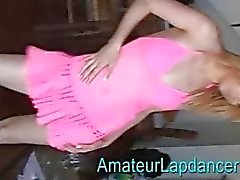 dança erótica Blonde marinheiro de primeira