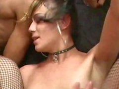 Amazing group sex with trannies