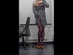 iş yerinde Sekreteri)