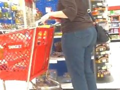 Gilin jeans booty no Target shopping