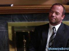 Связали мормонов жопа облапанная