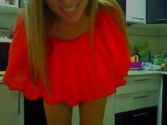 Naughty blond tonåring amatör utomhus knull och hon älskar det