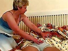 Grande Seios loira A avó Tirar Ssw O ...