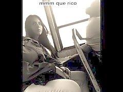 Hechandome Una de Manita linea EL Otras de autobuses MIENTRAS mí el Ven