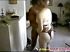 Marido video record de BBC Foda-se sua esposa