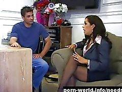Francesca Le Sucks And Fucks To Get The Job