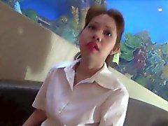 Филиппинка Nympho Дует и трахается белого петуха