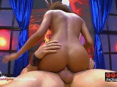 Luna Corazon sexy Brazilian Beauty hungry for German Cock