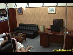 Jav Idol Ambushed и выебанная в офисе