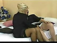 dois Grannie Lésbicas