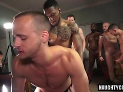 sexo anal gay quente com Ejaculação