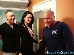 La prostituta olandese ha bussato