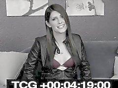 Corné breasty transexuelle a frappé dans son cul