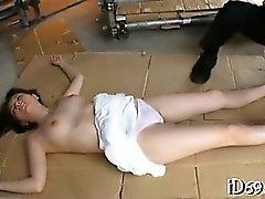 Arkadaşın burgular Japonca güzel bir bebe