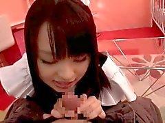 De Nozomi Aiuchi - Cosplay - Femme de ménage - La fellation